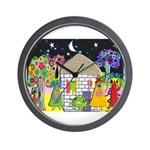 Monster Art Gifts Wall Clock