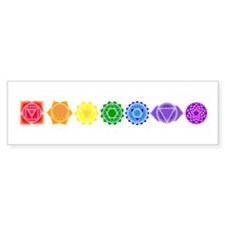 The Chakras Bumper Bumper Sticker