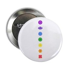 "The Chakras 2.25"" Button (10 pack)"