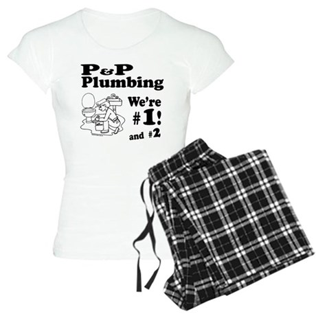P P Plumbing Women's Light Pajamas