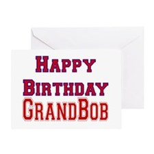 GrandBob Greeting Card