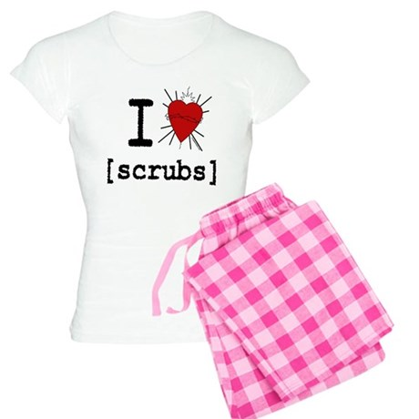 I Heart Scrubs Women's Light Pajamas