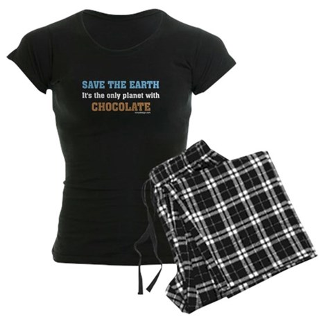 Save the earth! It's the only Women's Dark Pajamas