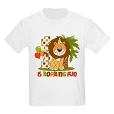 Cute Lion 1st Birthday T-Shirt