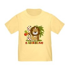 Cute Lion 1st Birthday T