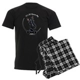 Black Scottie IAAM pajamas