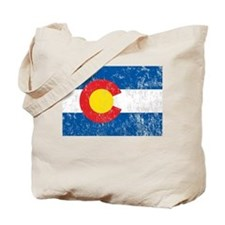 Colorado Vintage Tote Bag