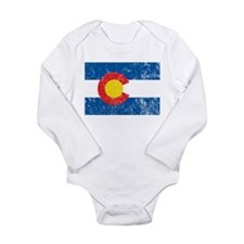 Colorado Vintage Long Sleeve Infant Bodysuit