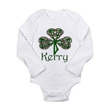 Kerry Shamrock Long Sleeve Infant Bodysuit