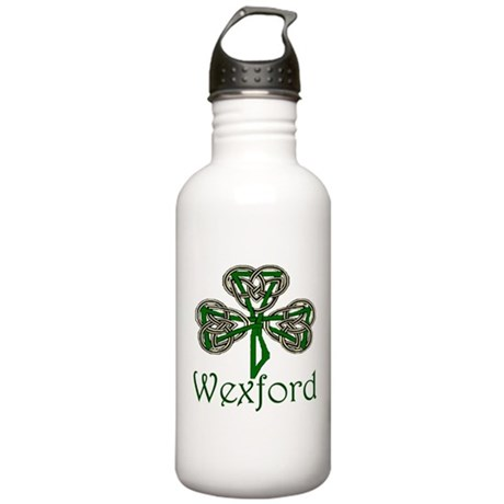 Wexford Shamrock Stainless Water Bottle 1.0L