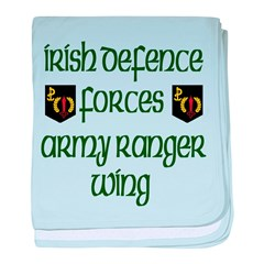 Irish Special Forces baby blanket