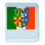 Four Provinces Flag baby blanket