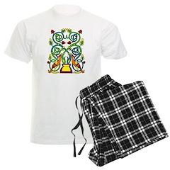 Celtic Tree of Life Men's Light Pajamas