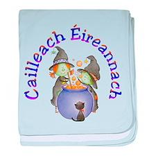 Irish Witch (Cauldron) baby blanket