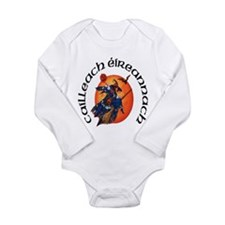 Irish Witch (Gaelic) Long Sleeve Infant Bodysuit