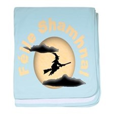 Witches Full Moon baby blanket