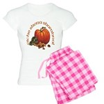 Gaelic Pumpkin Scene Women's Light Pajamas