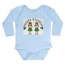 Irish Twins 2 Long Sleeve Infant Bodysuit