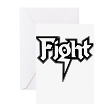Fight Greeting Cards (Pk of 10)