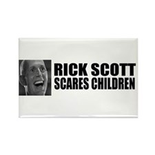 Scares Children Rectangle Magnet