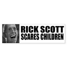 Scares Children Bumper Sticker
