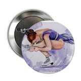 "Purple Haze Figure Skater 2.25"" Button"
