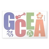 GCEA Ukulele Decal