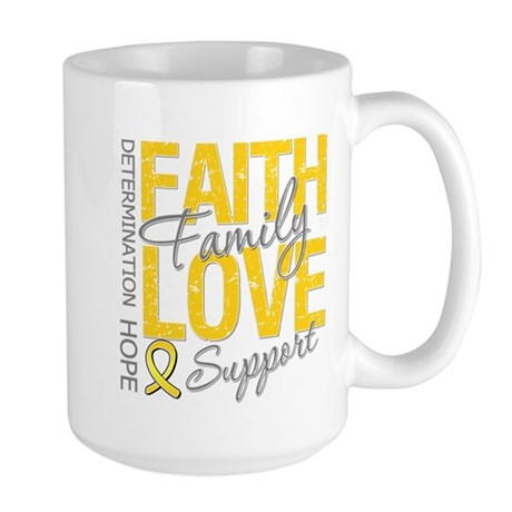 COPD Faith Love Large Mug