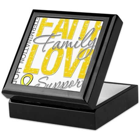 COPD Faith Love Keepsake Box