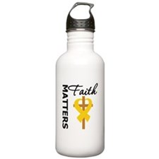 COPD Faith Matters Water Bottle