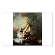 Storm on the Sea of Galilee Postcards (Package of