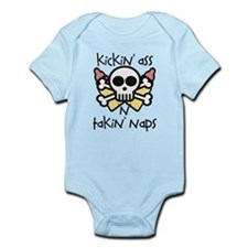 KICKIN' ASS AND TAKIN' NAPS - Infant Bodysuit