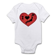 Japan Love Infant Bodysuit