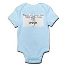 """SharpTee's """"EOD Fate"""" Infant Creeper"""