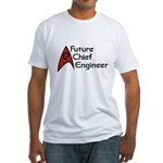Future Chief Engineer Fitted T-Shirt
