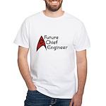 Future Chief Engineer White T-Shirt