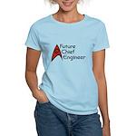 Future Chief Engineer Women's Light T-Shirt