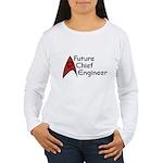 Future Chief Engineer Women's Long Sleeve T-Shirt