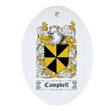 Campbell Ornament (Oval)