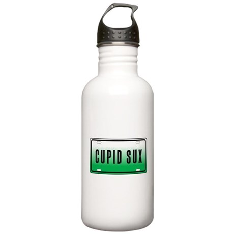Cupid Sux Stainless Water Bottle 1.0L