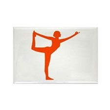 Yoga Rectangle Magnet (100 pack)