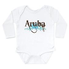 Aruba Grunge Vacation Onesie Romper Suit