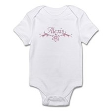 Alexis Floral Filagree Infant Creeper