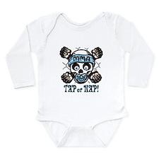 Tap or Nap Long Sleeve Infant Bodysuit
