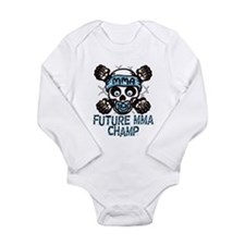 Future MMA Champ Long Sleeve Infant Bodysuit