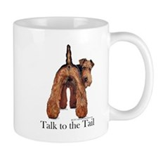 Airedale Talk to the Tail Small Mug