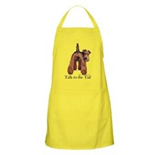 Airedale Talk to the Tail Apron