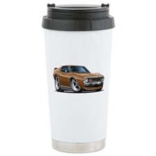 1971-74 Javelin Brown Car Ceramic Travel Mug