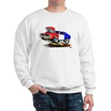 Javelin Red White Blue Car Sweatshirt