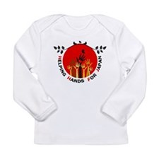 Helping Hands For Japan Long Sleeve Infant T-Shirt